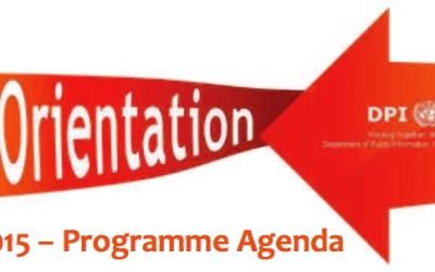 DPI/ NGO Orientation Programme